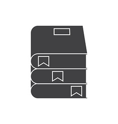 Book Pile Icon vector