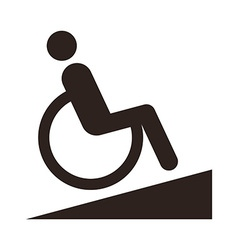 Disabled sign - Facilities for disabled vector