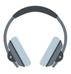 Headphone icon isolated vector