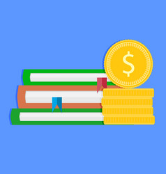 investment in future and graduation vector image
