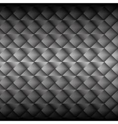metallic panel background vector image