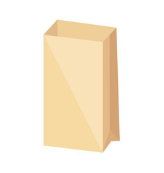 Paper bag icon vector