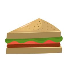 Sandwich healthy food vector