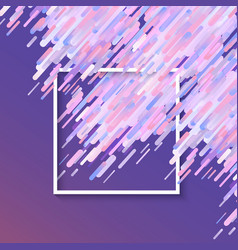 trendy glitched vibrant gradient background vector image