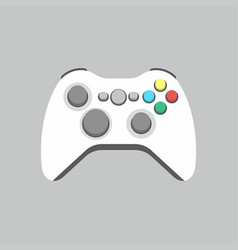 Video game joystick icon vector