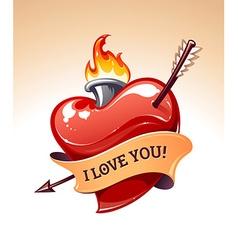 Heart Art vector image vector image