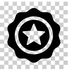 reward seal icon vector image vector image