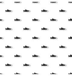 Sneaker pattern simple style vector image