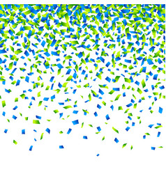 confetti background horizontally seamless vector image