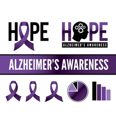 Alzheimers Graphics vector