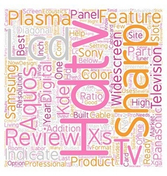 Hdtv reviews2 text background wordcloud concept vector