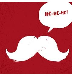 Ho-Ho-Ho Christmas concept vector