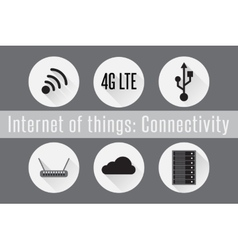 IoT - Connectivity vector image