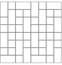 Monochrome blank manga template vector