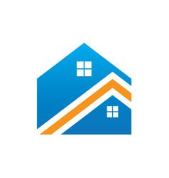 rohome building logo vector image