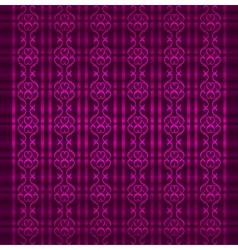 Victorian retro seamless pattern vector