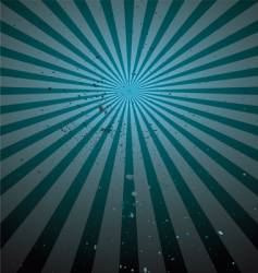 grunge rays background vector image
