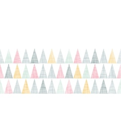 Abstract textile colorful textured triangles vector image vector image