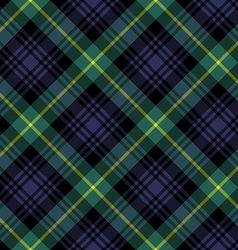 gordon tartan fabric textile check pattern vector image vector image