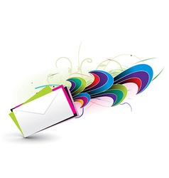 e-mail concept design vector image