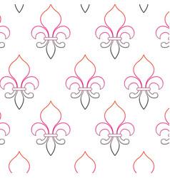 lis flower design vector image