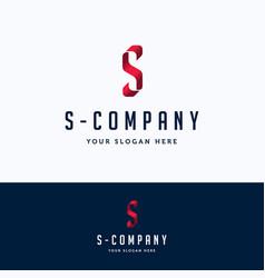 S company logo vector