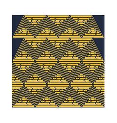 Traditional triangle symbol batik seamless pattern vector