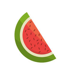 watermelon fruit fresh image vector image