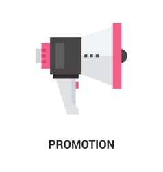 promotion icon concept vector image