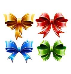 Bows Set vector image vector image