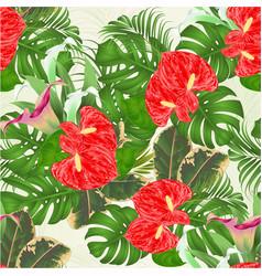 seamless texture floral arrangement bouquet with vector image