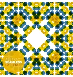 colorful seamless geometric pattern Modern vector image vector image