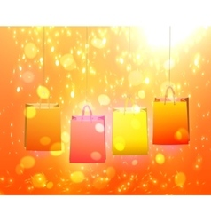 Paper Bag for your design vector image vector image