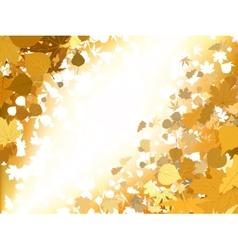 Autumn light background eps 8 vector
