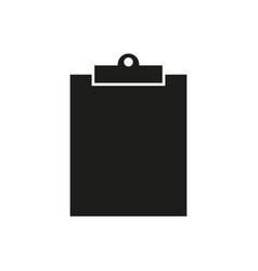clip black board work icon vector image