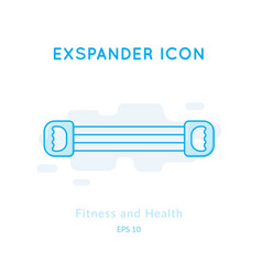 Expander icon isolated on white vector