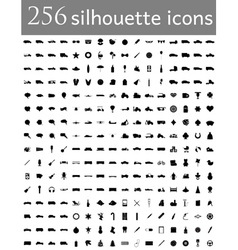 flat icons 10 vector image