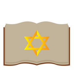 Isolated jewish bible vector