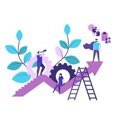 leadership concept concept vector image