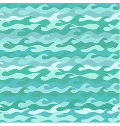Seamless pattern made of sea waves vector image
