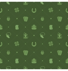 Seamless pattern with Lucky Charms vector