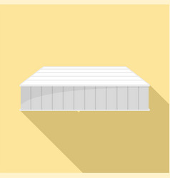 soft mattress icon flat style vector image