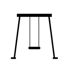swing icon vector image