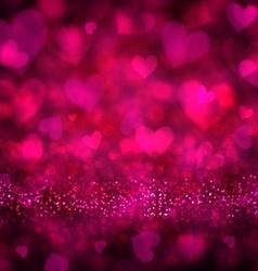 Valentines magenta background vector image