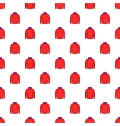 Men winter sweatshirt pattern cartoon style vector image vector image