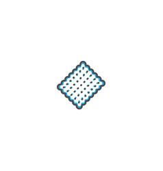 biscuit icon design gastronomy icon vector image