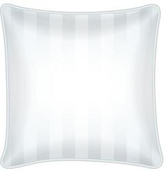 Decorative throw pillow vector