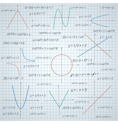 Mathematics paper background vector