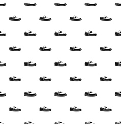 Moccasin pattern simple style vector image