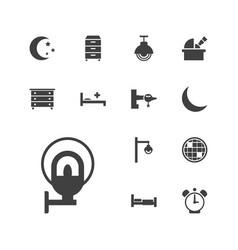 Night icons vector